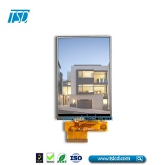 3.5 inch hvga 320X480 color TFT lcd ZIF FPC