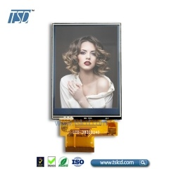 2.8 inch color TFT with  ZIF FPC connector with RTP