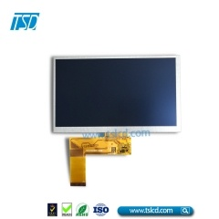 "7"" color TFT LCD"