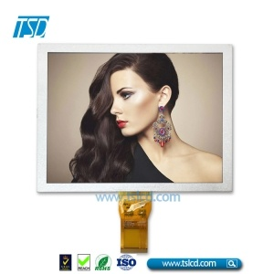"8"" color TFT LCD with 6 o'clock viewing angle"