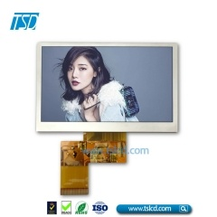 4.3 tft lcd display with RTP