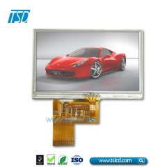 1000 nits 4.3 inch lcd with RTP