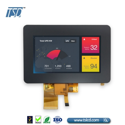 4.3 tft lcd display with CTP