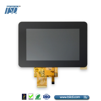 5 inch 800×480 resolution with RGB interface
