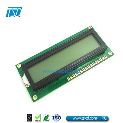 16x2 STN character LCD display avanzado en china